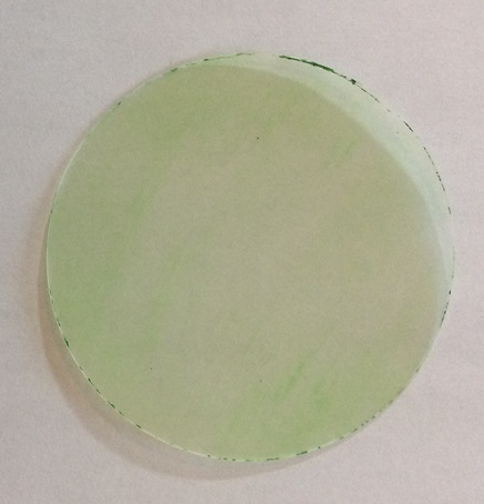 Poorly coloured circle