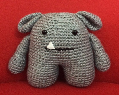 Amigurumi monster
