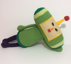 Crochet plush Katamari Damacy Prince
