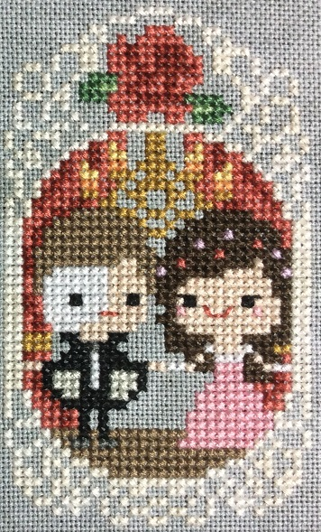 The Phantom of the Opera cross stitch