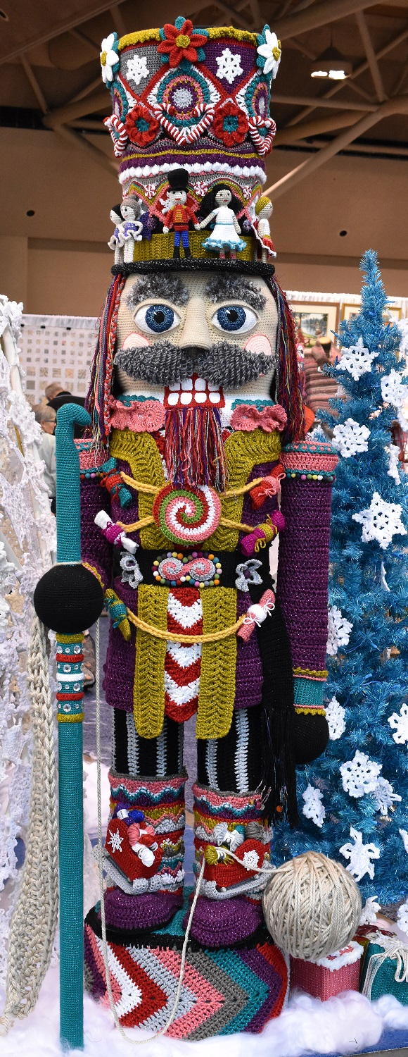 Crocheted Nutcracker
