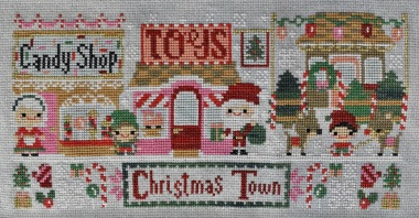 Christmas Town cross stitch