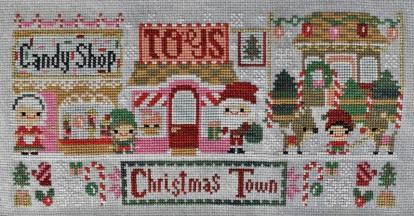 Christmas Town cross stitch