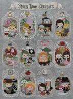 Frosted Pumpkin Story Time Cross Stitch