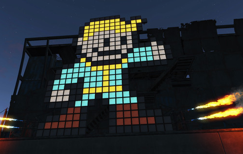 Fallout 4 Vault Boy screenshot