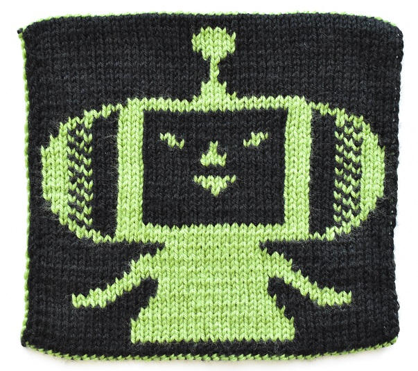 Double knit Katamari Prince back view