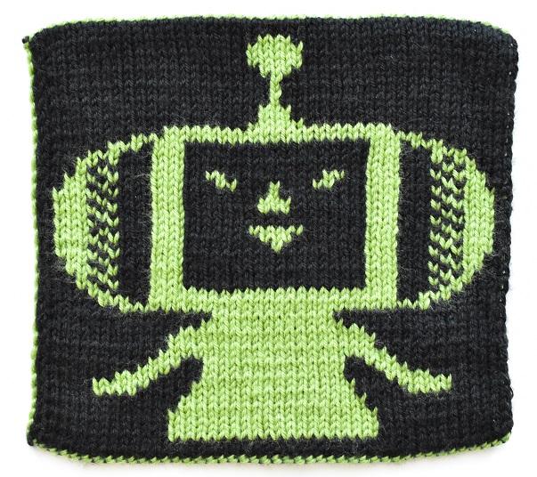 Double knit Katamari Prince back view