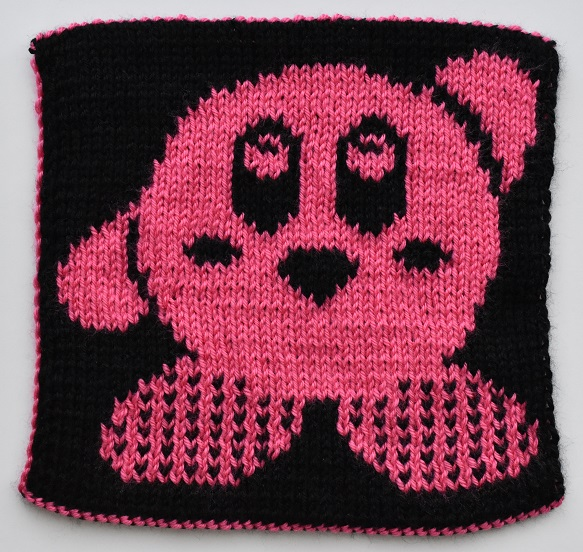 Double knit Kirby square
